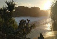 Sunset Pantai Baron Gunungkidul