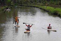 Fasilitas Sungai Cokel Pacitan