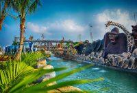 Jalan Menuju Wonderland Adventure Waterpark Karawang