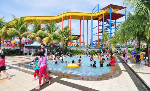 Lokasi Wonderland Adventure Waterpark Karawang