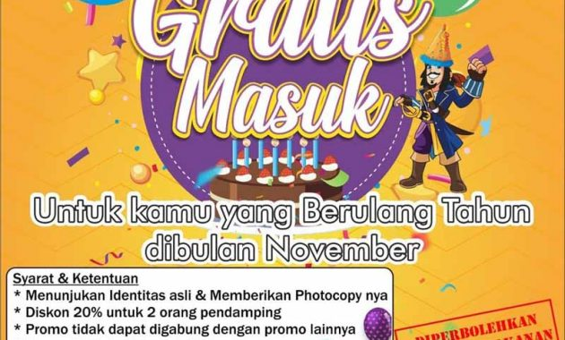 Promo Santa Sea Waterpark Bulan November