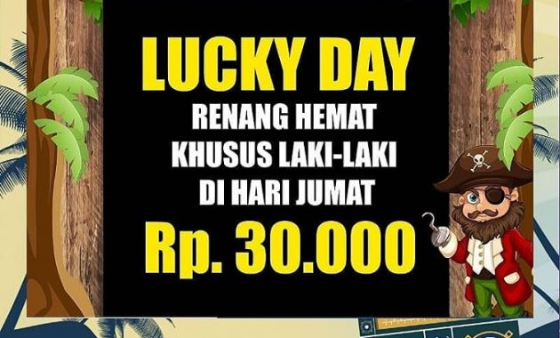 Promo Wonderland Adventure Waterpark Karawang Lucky Day